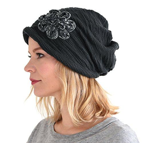 Floral Ladies Hat Charm - 3