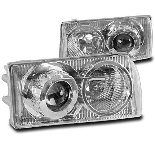 ZMAUTOPARTS 1997-2004 Chevy Corvette C5 Chrome Projector Headlights Headlamps Lamps Chevy Corvette Projector Headlights