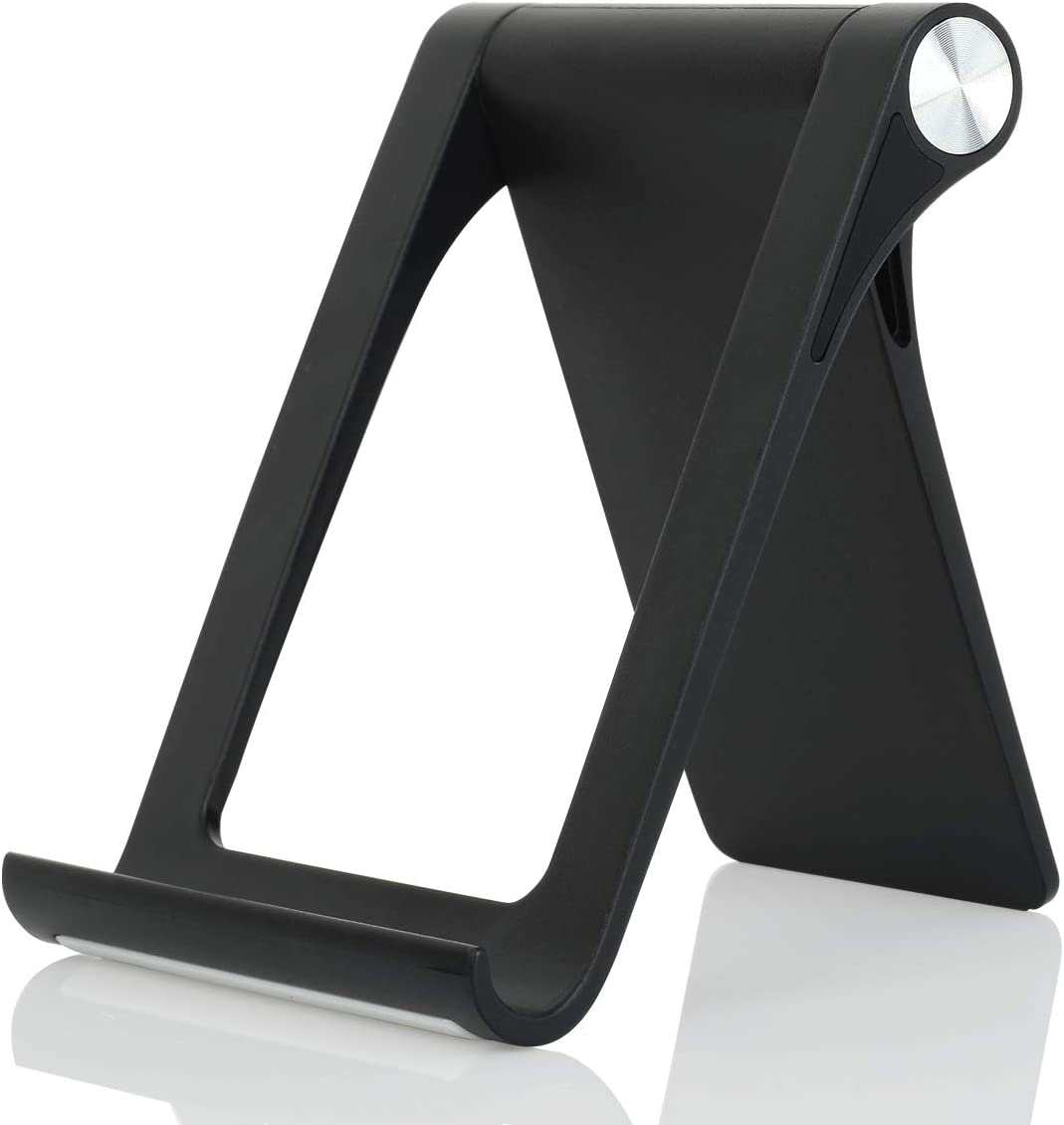 Cell Phone Stand Holder - Uniwit Multi-Angle Adjustable Phone Desk Stand Tablet Holder for iPhone 11 Pro Max XS XR 8 Plus 6 7 Samsung Galaxy S10 S9 S8 S7 Edge S6 Android Smartphone