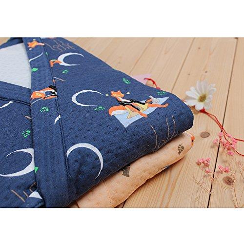 Pigiama Tuta Abito Uomo Fancy In Pumpkin Da Molto Navy323 Invernale Morbido Giapponese Stile Più Spessa v5WWfqZ