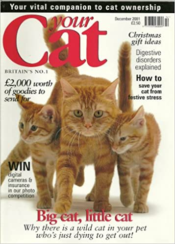 YOUR CAT magazine Dec 2001 SINGAPURA TIM COUZENS COFEE SHOP CATS