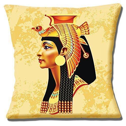 Reina Egipcia Cabeza Pájaro Tocado multicolor - 16