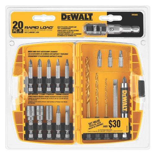 DEWALT DW2503 Rapid Load 20 Piece