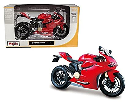 Amazon.com: New 1: 12 de Maisto – Maqueta de motocicleta ...