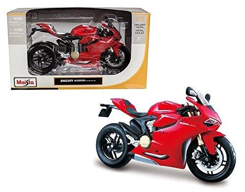 NEW 1:12 MAISTO MOTORCYCLE COLLECTION - RED DUCATI for sale  Delivered anywhere in USA