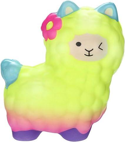 Squishy Kawaii Squishy Grandes Con Olor Llamas Adorables Slow ...