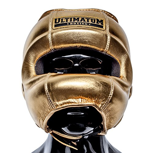 Ultimatum Boxing Gen3FaceBar Gold Professional Facebar Headgear