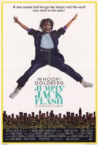 Jumping Jack Collectible - Jumping Jack Flash POSTER Movie (27 x 40 Inches - 69cm x 102cm) (1986)