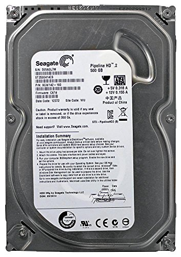 Seagate Pipeline Internal ST3500414CS Drive product image