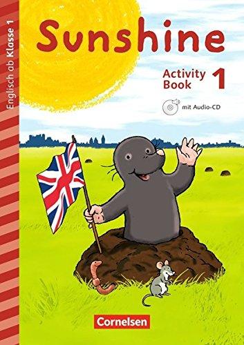 Sunshine - Early Start Edition - Neubearbeitung: 1. Schuljahr - Activity Book mit Audio-CD, Minibildkarten und Faltbox