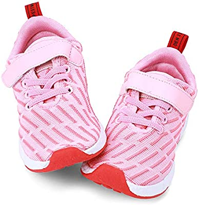 Zefani Girls Breathable Sneakers Lightweight Tennis Athletic