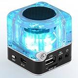 soled Black Mini Digital Portable TT-028 MP3 Music Player USB FM Radio