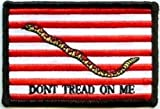 Navy Jack Naval Flag Don't Tread On Me Motorcycle NEW Biker PATCH! PAT-2590 For Sale