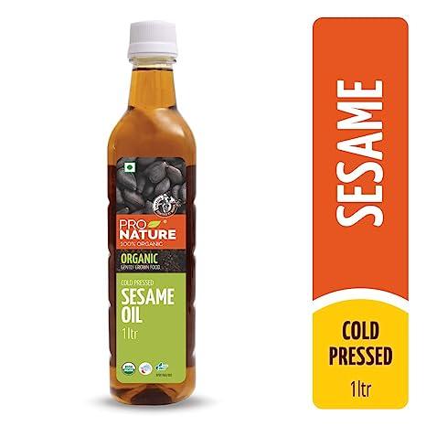 Pro Nature 100% Organic Sesame Oil, 1 l
