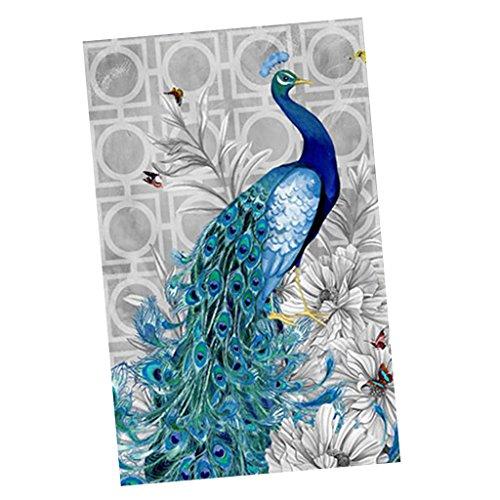 Baosity インテリア ピーコック 5D 人工ダイヤモンドの絵画 刺繍 装飾 ファブリックの商品画像