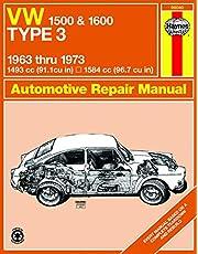 VW 1500 & 1600 Type 3 models 1493cc & 1584cc (63-73) Haynes Repair Manual