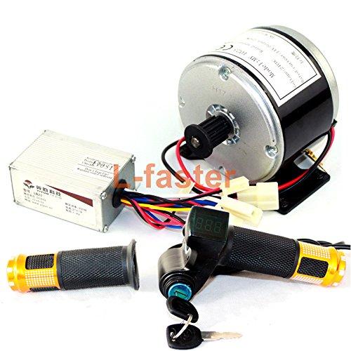24ボルト250ワット電動スクーターモーター電動バイクベルト駆動my1016高速ベルトモータ250ワット電動スクーター変換キット [並行輸入品] B07BKWGPFJ upgrade kit upgrade kit