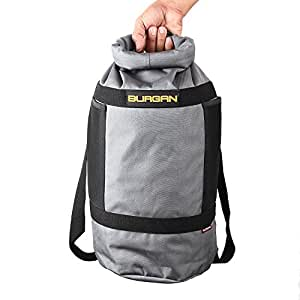 BURGAN Dry Bag, Multifunction Camping Day Sack (Ash Grey)