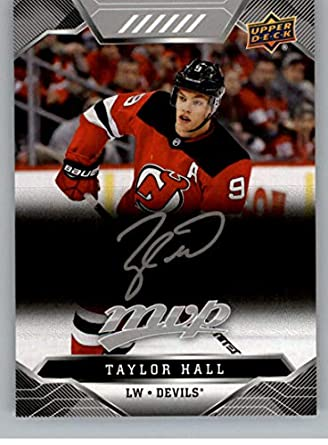 separation shoes 088ff f983f Amazon.com: 2019-20 UD MVP NHL Silver Script #153 Taylor ...