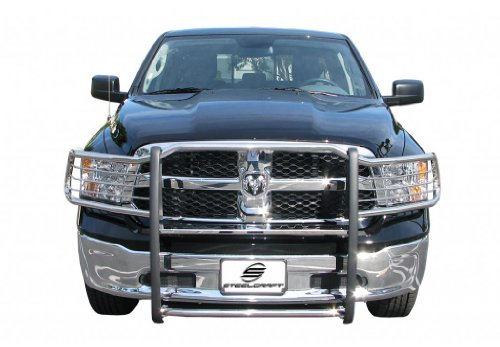 - Steelcraft 52277Custom Fit 2009-2016 Dodge Ram 1500, Will Interfere with Sensors If Equipped, Grille Bumper Brush Guard Bull Bar