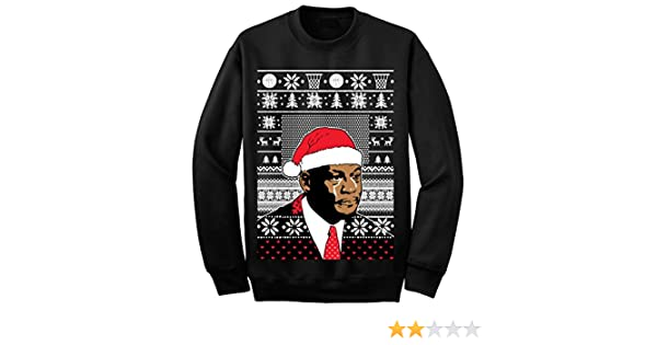1299 Prime Tees Adult Jordan Crying Meme T Shirt Ugly Christmas Sweater