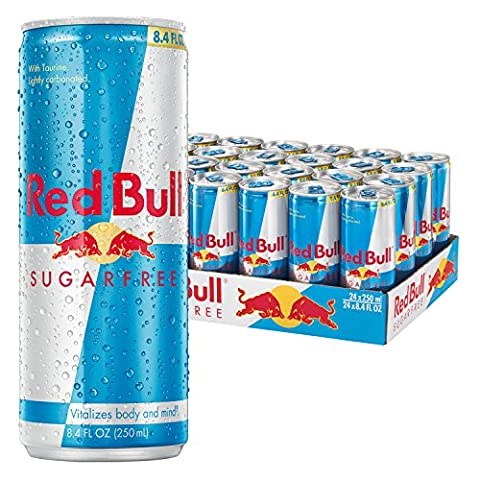 Red Bull Sugarfree, Energy Drink, 8.4 Fl Oz Cans, 24 Pack - Wholesale Outlet