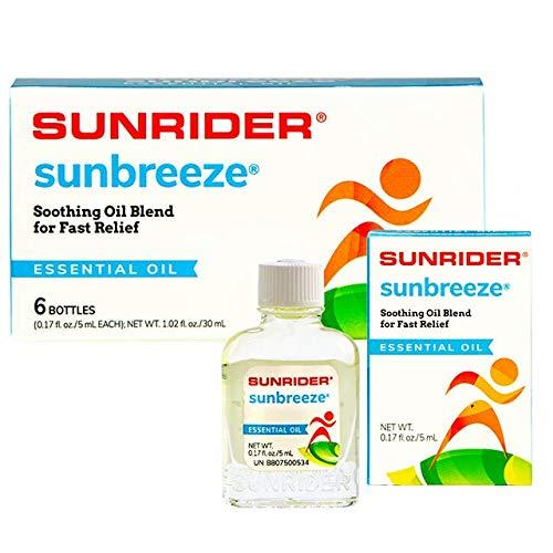 SunBreeze Oil - 6 Bottles (0.17 fl. oz./5 mL each bottle)