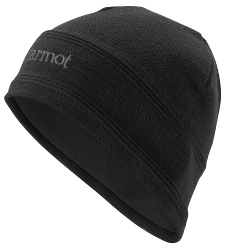 Marmot Men's Shadows Hat, Black, One (Shadow Fleece Cap)