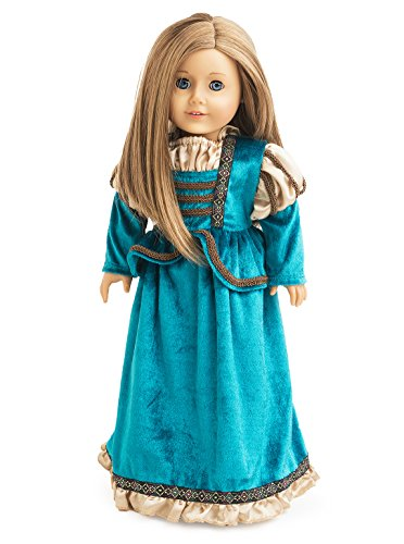 Little Adventures Scottish Princess Matching Doll Dress