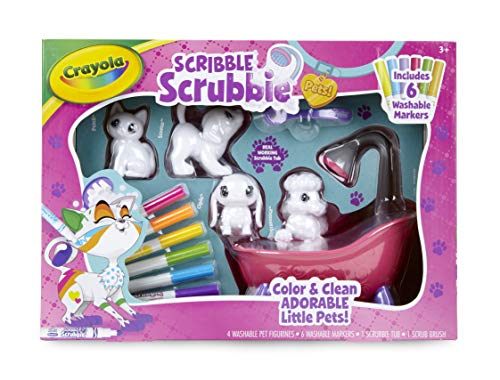 51Fs 5uVqhL - Crayola Scribble Scrubbie, Toy Pet Playset,Gift for Kids, Age 3, 4, 5, 6