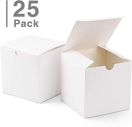 Amazon.com: Cajas de regalo GSSUSA de 4.0 x 4.0 x 4.0 in, 25 ...