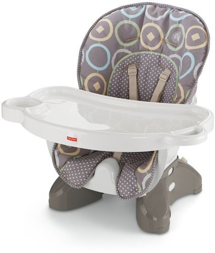 Reclining Booster (Fisher-Price SpaceSaver High Chair, Luminosity)