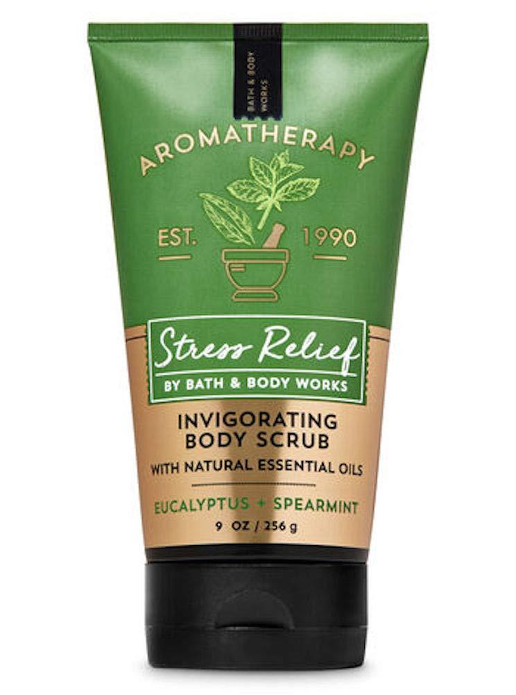 Bath and Body Works Body Care Aromatherapy Invigorating Body Scrub 9 oz STRESS RELIEF - Eucalyptus + Spearmint