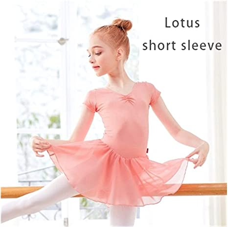Augus Jacob Falda de Ballet Vestido De Ballet For Niñas Leotardo ...