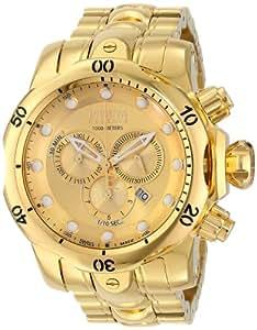 Invicta Men's 14503 Venom Analog Display Swiss Quartz Gold Watch