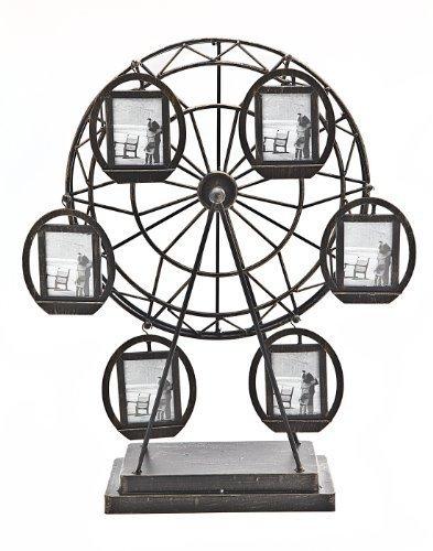 Philip Whitney Rotating Ferris Wheel Six 2x3 Picture - Frame Photo Godinger