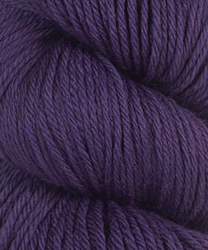 - Cascade Yarn - Cascade 220 Peruvian Wool - Mulberry Purple 9673