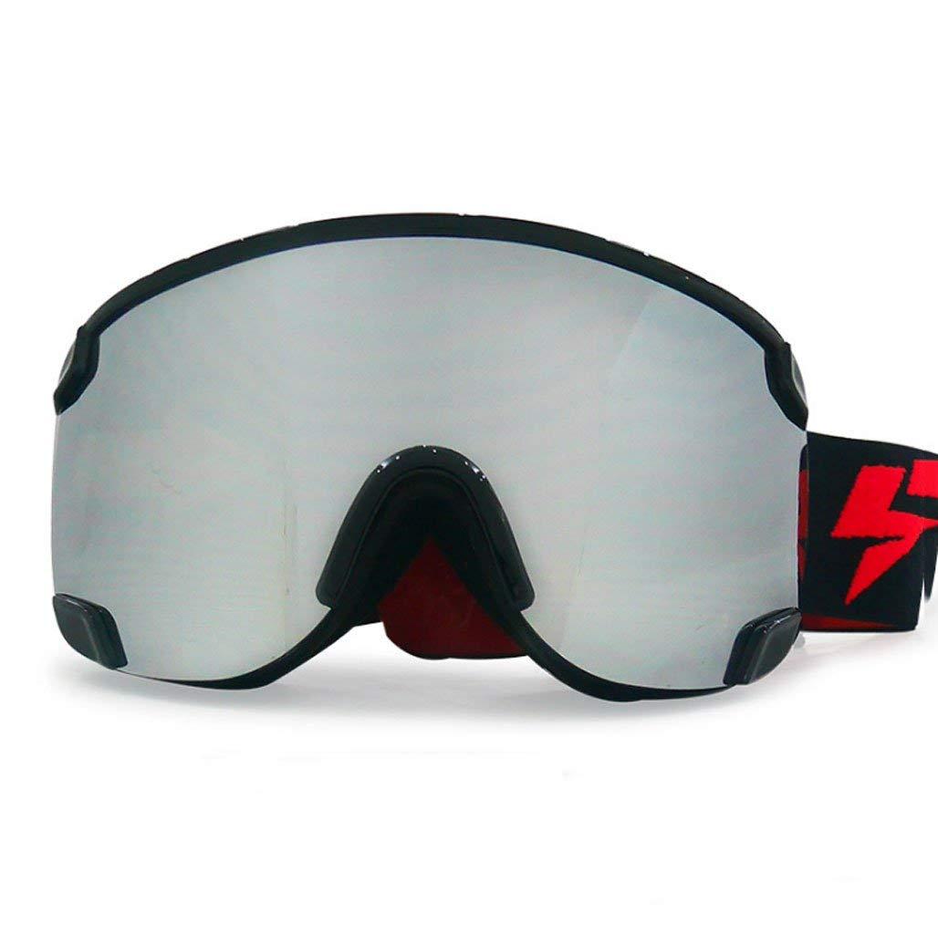 MmingS Home Schutzbrille Bergsteigerbrille, Skibrille, Zweischichtiger Zylinder, Antibeschlagschutz, PC Explosionsgeschützte Materialbrille