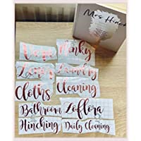 1 Mrs Hinch Labels | Zoflo Spray Bottle Label Stickers