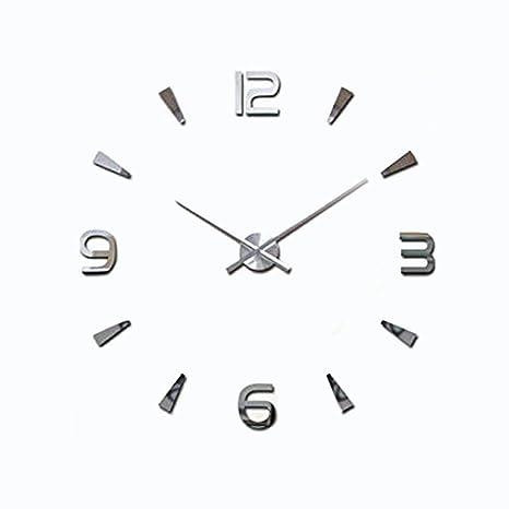 Amazon.com: Lance Home - Reloj de pared 3D, diseño moderno ...