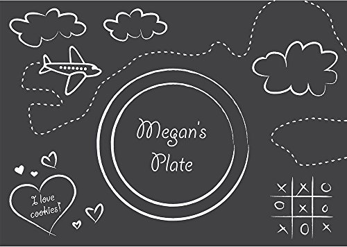 Hoffmaster Group 863406 Chalkboard Paper Placemats
