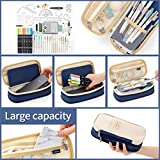 EASTHILL Big Capacity Pencil Pen Case Pouch Box