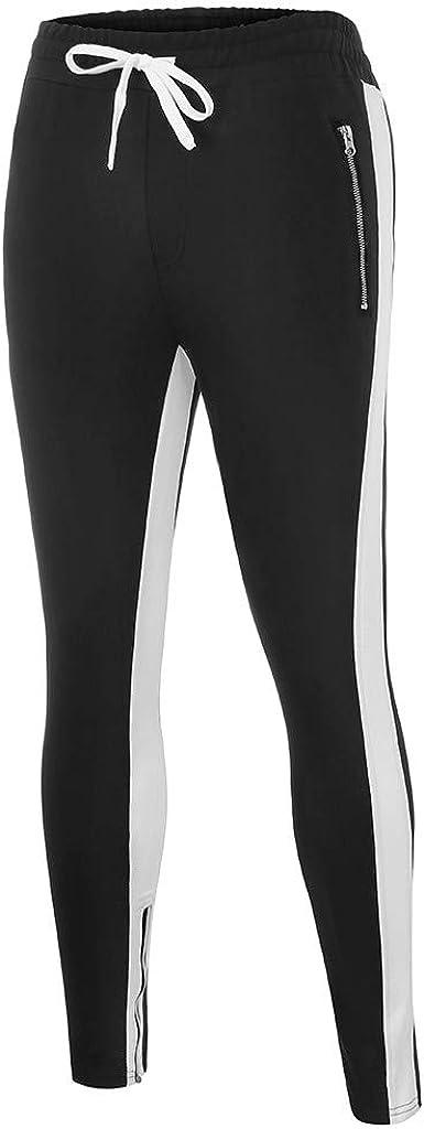 Men Sweatpants Casual Loose One Stripe Print Japanese Style Pants Mens Spring Fashion 2020