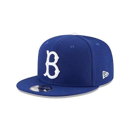 New Era 9Fifty Brooklyn Dodgers Basic Snapback - Gorra para Hombre ... 65b2362434f