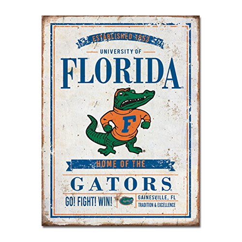 Legacy University of Florida Vintage Tin Sign