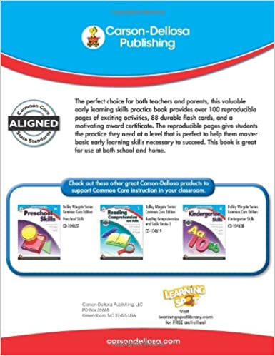 Alphabet, Colors, Numbers, and Shapes, Grades PK - 1 (Kelley ...