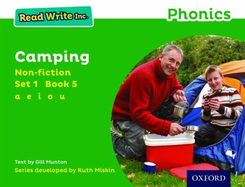 Read Online Read Write Inc. Phonics: Green Set 1 Non-fiction 5 Camping pdf epub