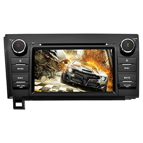 Cheap YINUO Android 7.1 Double Din 7 Inch Capacitive Touch Screen Car Stereo DVD Player in Dash GPS Navigation for Toyota Tundra(2007-2013),Toyota Sequoia(2008-2015),7 Color Button Illumination