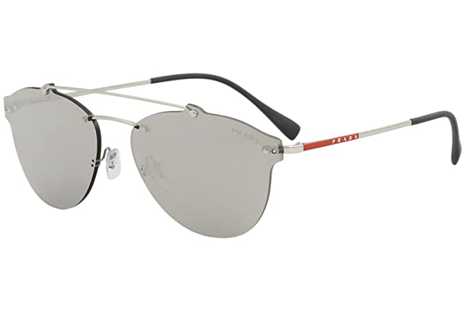 Prada Linea Rossa 0PS 55TS Gafas de sol Silver 59 para ...