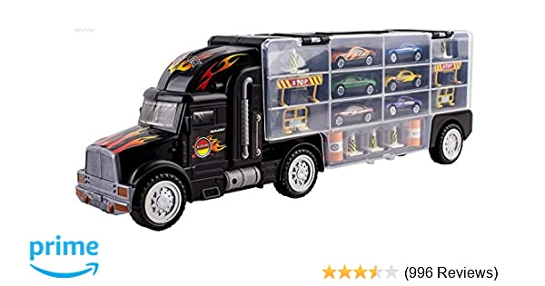Perfect For Boys Toys Age 8 : Amazon.com: wolvol transport car carrier truck toy for boys and